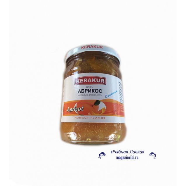 Джем из абрикосов с косточкой (миндалем) (KERAKUR), Армения, 600 гр.