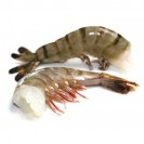Тигровые креветки, черные, без головы(41/50), техническая глазурь, Бангладеш,1кг