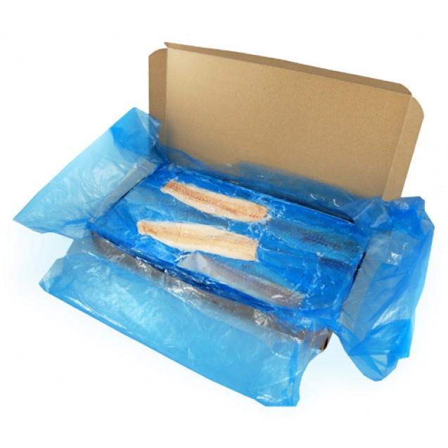 Филе минтая без кожи, проложенное, сухой заморозки, изгот-но в море Россия 6.81кг