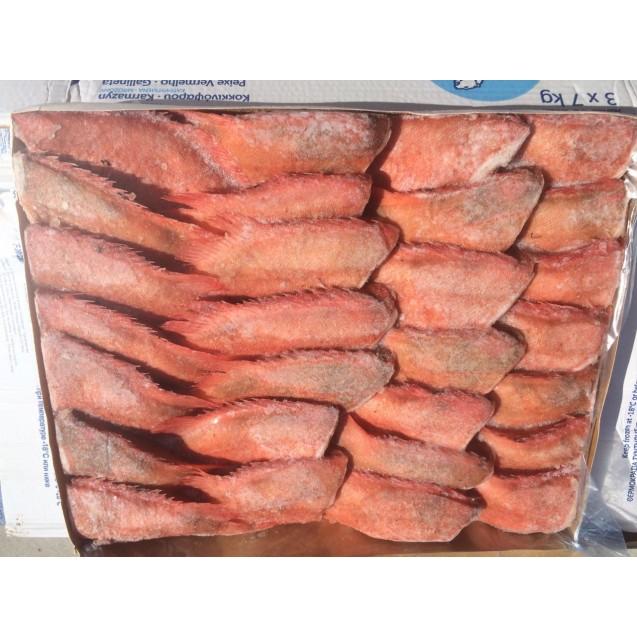 Морской окунь, потрошенный без головы (150-300 гр.), Россия, 1 кг
