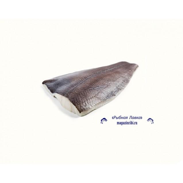 Филе палтуса синекорого на коже, штучной заморозки, Мурманск, 1кг