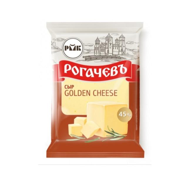 """Сыр """"Golden Cheese"""", жирность 45%, Рогачев, Беларусь, 200гр."""