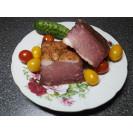 ШПЕК сырокопченый из свинины (вес одного ядра  окорока 350-400 гр.) Рецепты Бульбаша, 1 кг