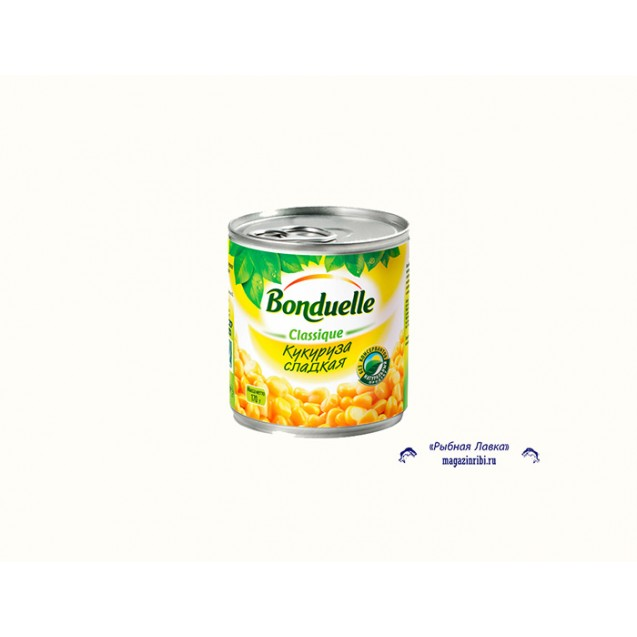 "Кукуруза ""сладкая"" (Bonduelle), Ключ, 340 гр., 1 шт."