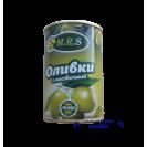Оливки отборные с косточкой (M.R.S.), Банка с ключем, Испания, 280 гр