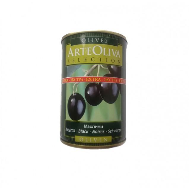 "Маслины с косточкой ""Arte oliva"", (ключ), Испания, 425 гр."