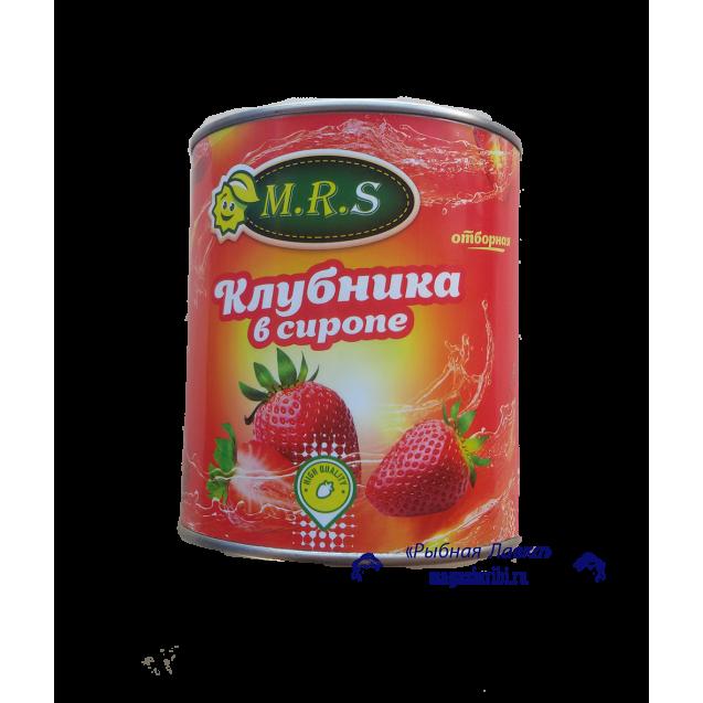 Клубника в сиропе (M. R. S.) отборная, 410 гр