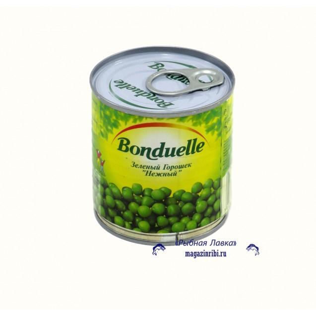 """Зеленый горошек """"Нежный"""" (Bonduelle), ключ, 400 гр."""