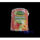 Персики половинками в сиропе (M.R.S.) отборные, 425 гр.