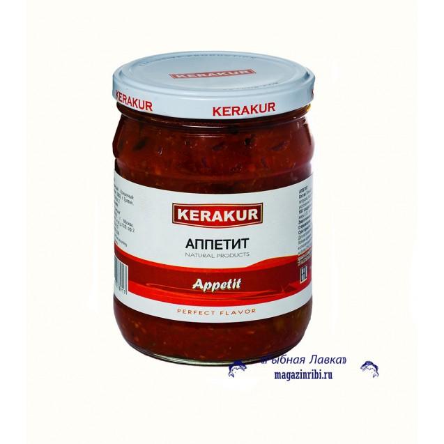 АППЕТИТ (помидоры, перец острый, петрушка), (KERAKUR), Армения, 480 гр.