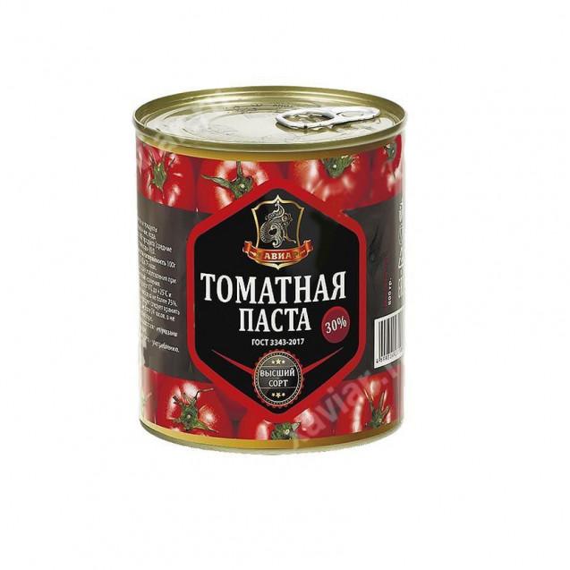 "Томатная паста ""Хавиар"", ГОСТ, Высший сорт, Краснодарский край, 800 гр."