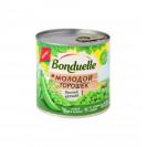 """Горошек зелёный """"Молодой""""(сочный и нежный) """"Bonduelle"""", ключ, 400 гр."""