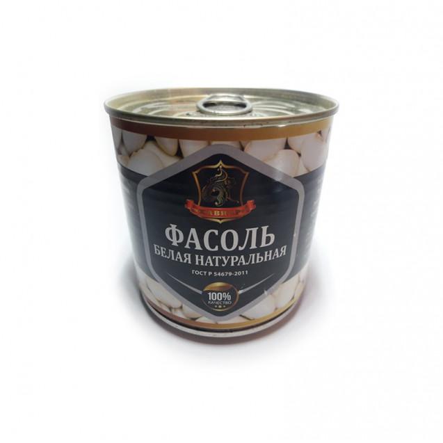 Фасоль белая натуральная в собственном соку (Хавиар), ГОСТ, ключ, Краснодар, 420 гр