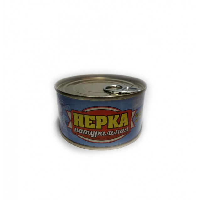 Нерка натуральная (Рыбспецпром) ключ, Камчатка, 200 гр