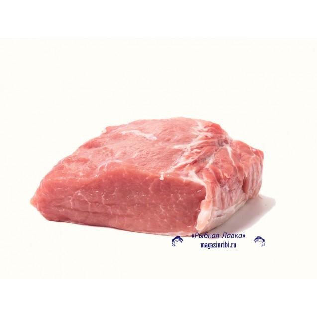 Карбонат корейка свиной без кости (2-4 кг) замороженный, Россия, 1 кг