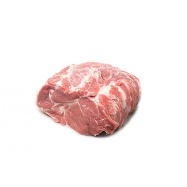 Шейка свиная без кости (один кусок 600-800 гр., упаковка около 1,4 кг) замороженная, вакуумная упаковка Россия, 1 кг