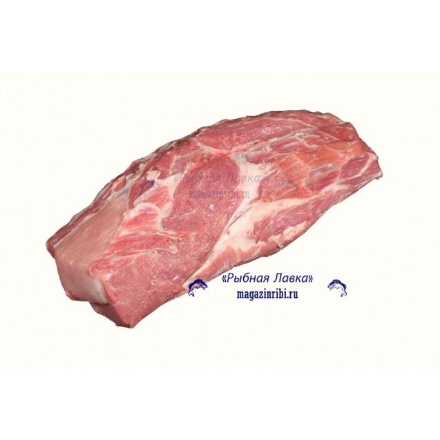 Шейка свиная без кости (2-4 кг) замороженная, Россия, 1 кг