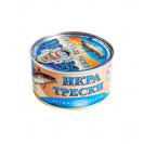 Икра трески стерилизованная, ГОСТ (Рыбное меню) Россия, 200 гр.