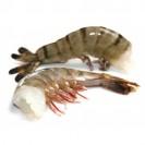 Тигровые креветки, черные, без головы(21/25), техническая глазурь, Бангладеш,1кг