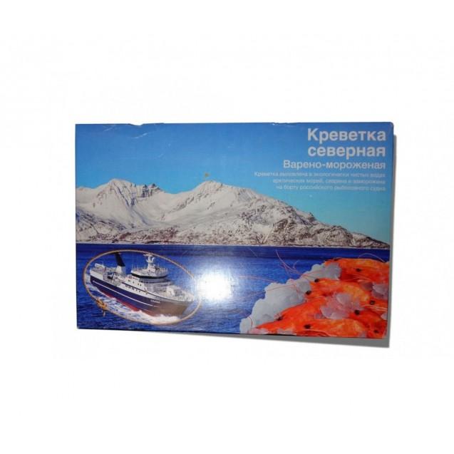 """Креветки северные """"Дикие"""" (80/100) варено-мороженные, сухой заморозки, Мурманск, 5кг"""