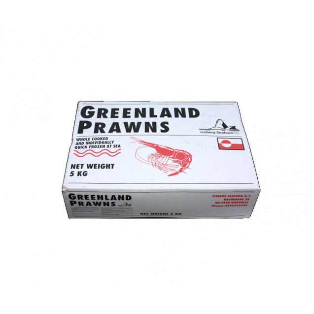 """Креветки северные """"Дикие"""" (70/90) сухой заморозки, Гренландия, 5кг"""