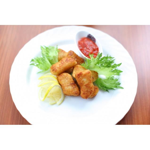 Наггетсы рыбные, из тресковых пород, Мурманск, 1 кг