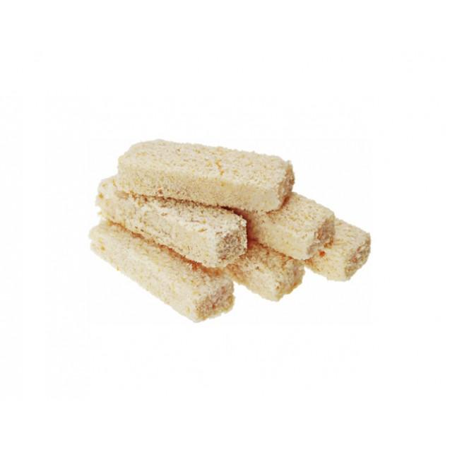 Палочки (филе из горбуши изготовленного в море) рыбные в панировке, Россия, 1 кг