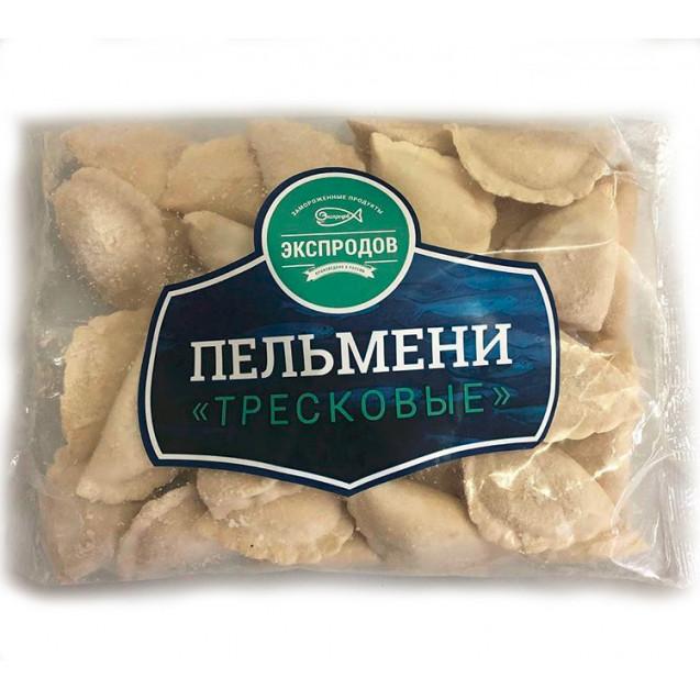 """Пельмени рыбные """"Тресковые"""" (из тресковых пород), Россия, 0.5 кг"""