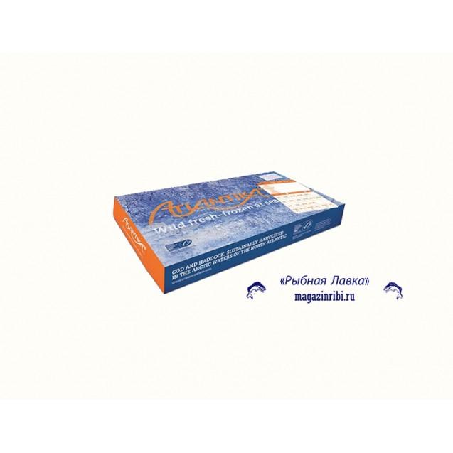 Филе трески на коже, проложенное (230-450)  Атлантика, изгот.в море, Мурманск 6.81кг