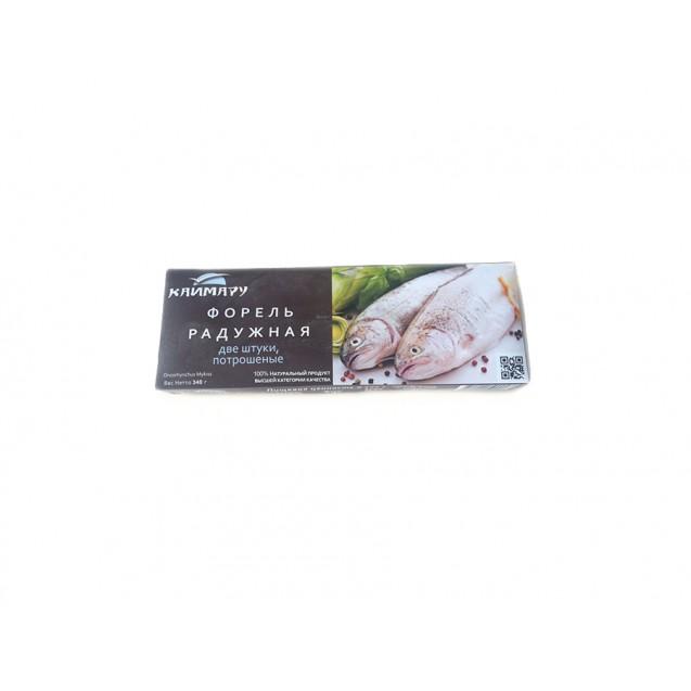 Форель радужная (две штуки потрошеные) в коробочке, Турция, 340 гр.
