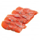 Филе форели-нарезка холодного копчения, замороженное (вакуум), 250 гр.
