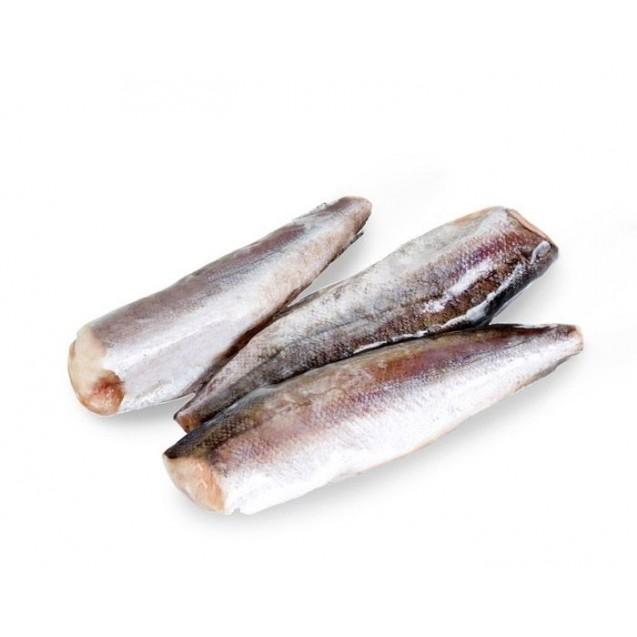 Хек тушка Hubbsi (150-250 гр.), проложенный, судовая заморозка (Валаастро) Аргентина, 1 кг