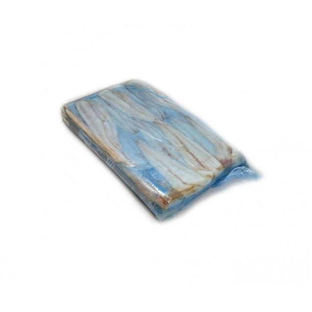 Филе хека без кожи (60-120), изготовлено в море, проложенное, Аргентина, 1кг