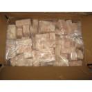 Кубики минтая, из филе минтая, изготовлено в море (без воды), в вакууме, Дальний Восток, 1 кг