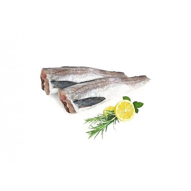 Минтай без головы (25+ см) потрошенный, изготовлен в море, Дальний Восток, 7 кг