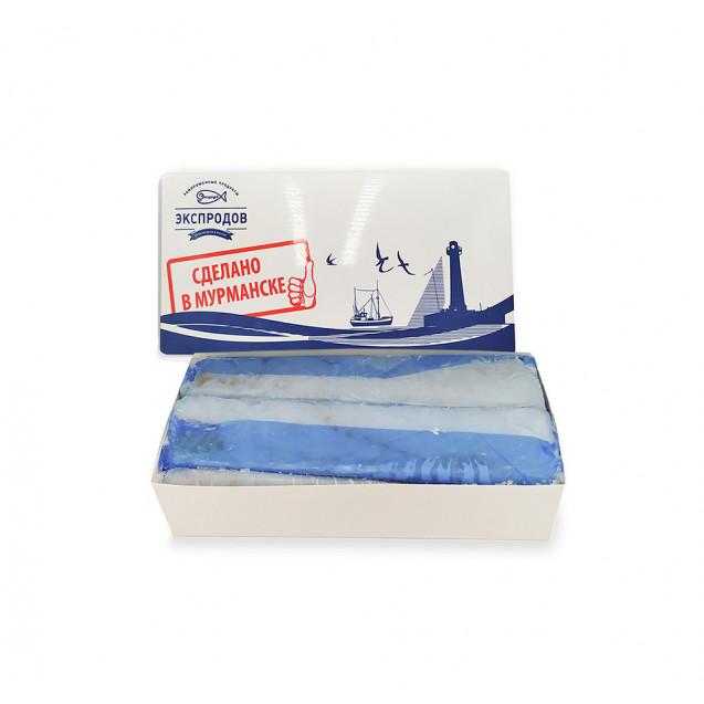 Филе трески без кожи (200-300 гр.) проложенное из охлажденного сырья  (Мурман СиФуд) Мурманск, 1,75 кг