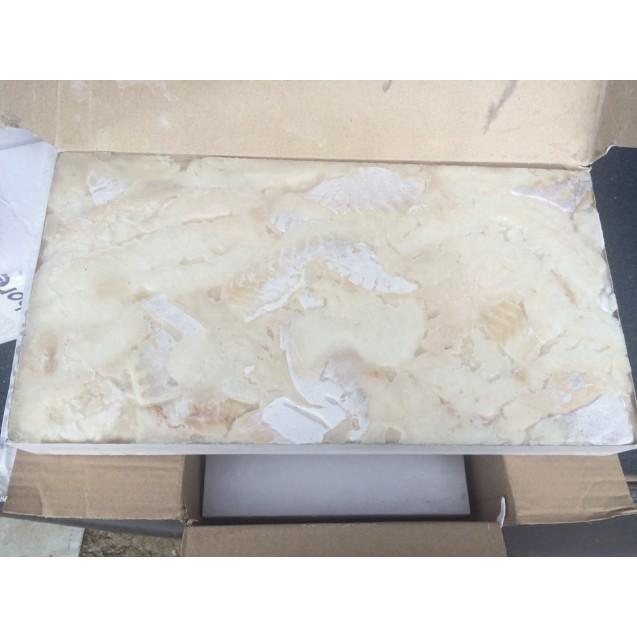 Филе пикши кусочки, блочное, без шкуры, без костей, Мурманск, 7,5 кг