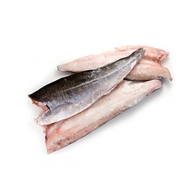 Филе сайды на коже, штучной заморозки (Полярное Море), Мурманск, 1 кг