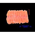 Семга нарезка слабосоленая (около 300 гр), без консерванта и красителя, 100гр