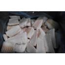 Филе трески порционное без кожи, произведено в Мурманске из охл. сырья, 1кг