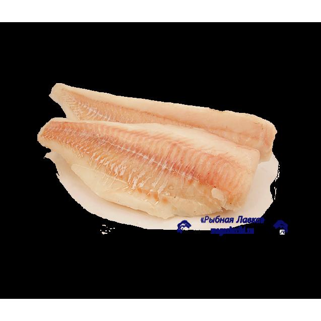 Филе трески хвостовая часть, без шкуры без костей, штучной заморозки, Мурманск, 5кг