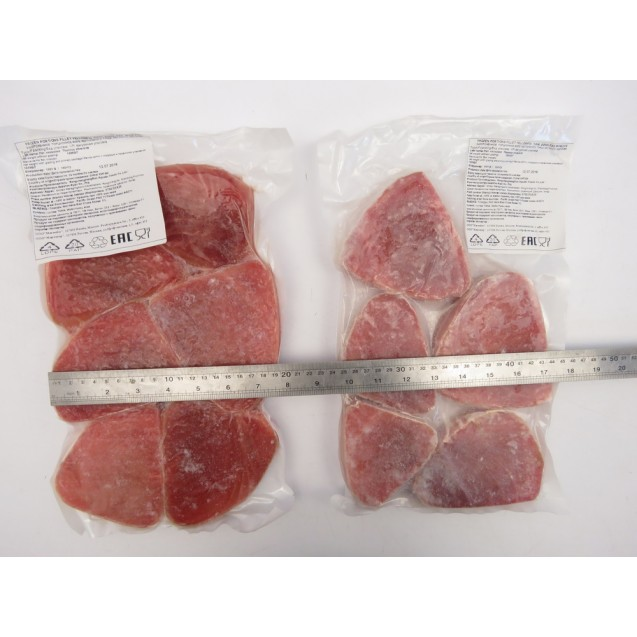Тунец филе порционное (50гр+), Вакуумная упаковка, 0,5 кг