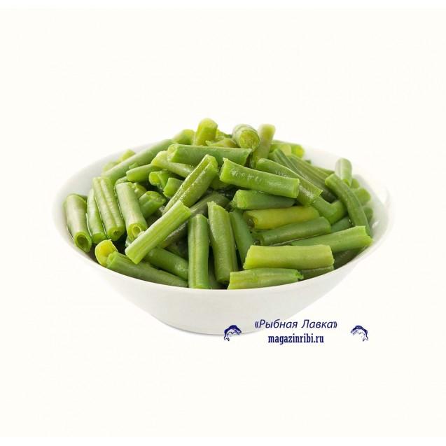 Стручковая фасоль зеленая, резаная, замороженная, Македония, 1 кг